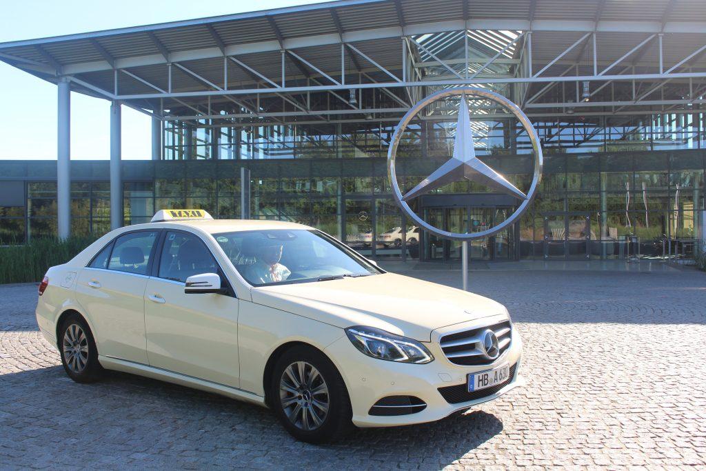 1. Umwelt Taxi: Mercedes E-Klasse 200 Erdgas